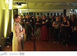 Artists, patrons, staff and crew of the New Zealand International Arts Festival celebrate a successful opening day with a reception at Te Wharewaka on Wellington's waterfront.