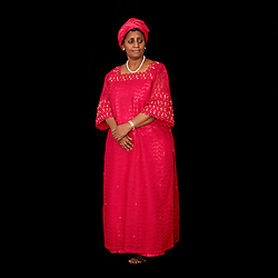 Portrait of Mariama Mohamed Cisse, Secretary of the African Committee of Experts on the Rights and Welfare of the Child (ACERWC) from Niger.<br />