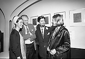 1967 - Opening of exhibition of paintings by Asgeir Scott at Brown Thomas