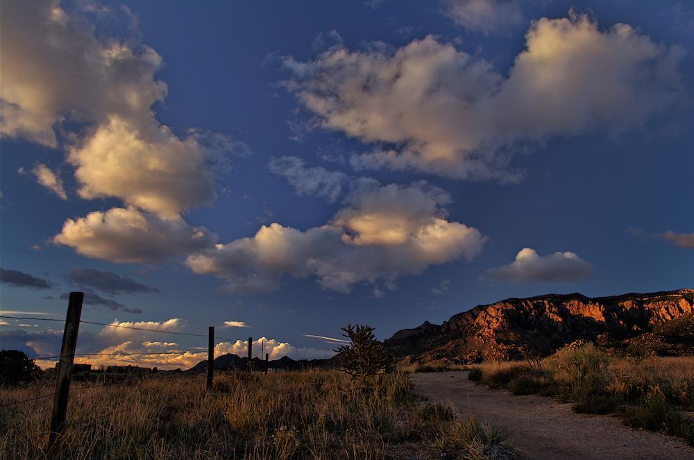 Sandia Mountains, High Desert, Albuquerque, NM
