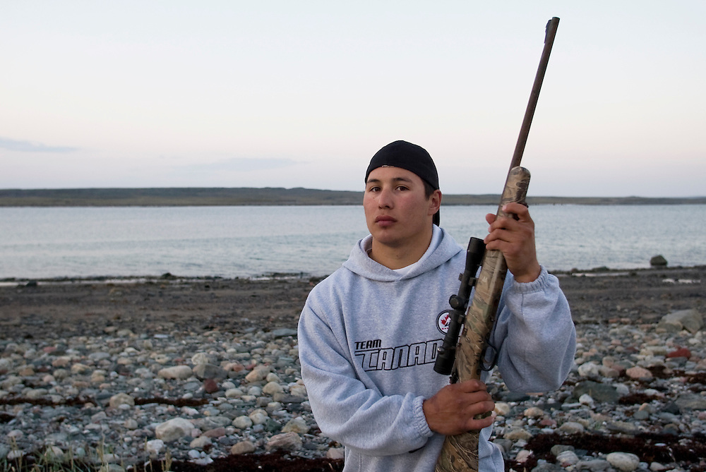 Jordin Tootoo grew up in a small village along the Hudson Bay only a hundred miles from the Arctic Circle. The first Inuit to play professionally in the National Hockey League, Tootoo is close to his family and friends to nearly everyone in Rankins Inlet in Northeast Canada. During the off season, Jordin spends time fishing and hunting with his family. Like nearly everyone in Rankins Inlet, living off the land is a way of life.