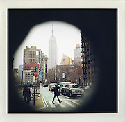 Empire State building, New York..From the series Fake Polaroids. ...photo © Stefan Falke....