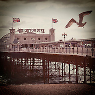 The Palace Pier, Brighton, Sussex, Britain - September 2009