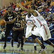 NBA D-LEAGUE BASKETBALL 2014 - JAN 3 Erie BayHawks (Knicks) defeats Delaware 87ers (76ers) 109-102