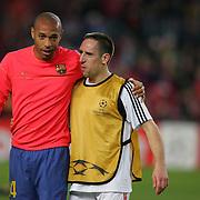 Henry and Ribery up for Fifa award