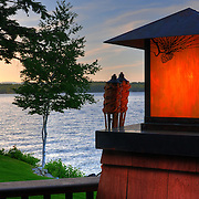 A property on Lake Winnipesaukee, taken for the owner.
