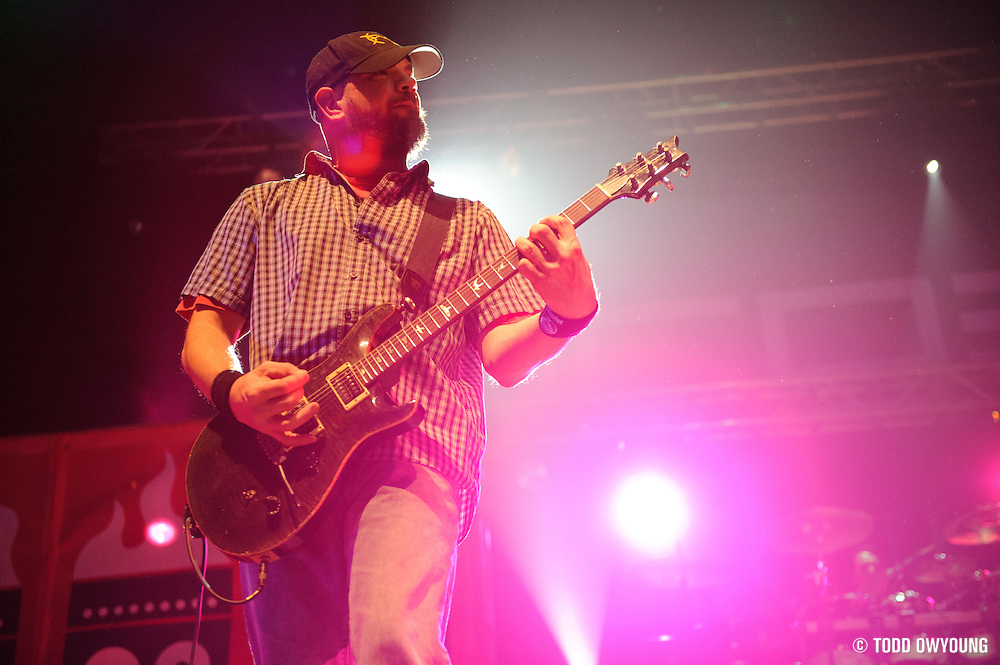 The Urge performing the first of their reunion shows at the Pageant in St. Louis on November 11, 2011.