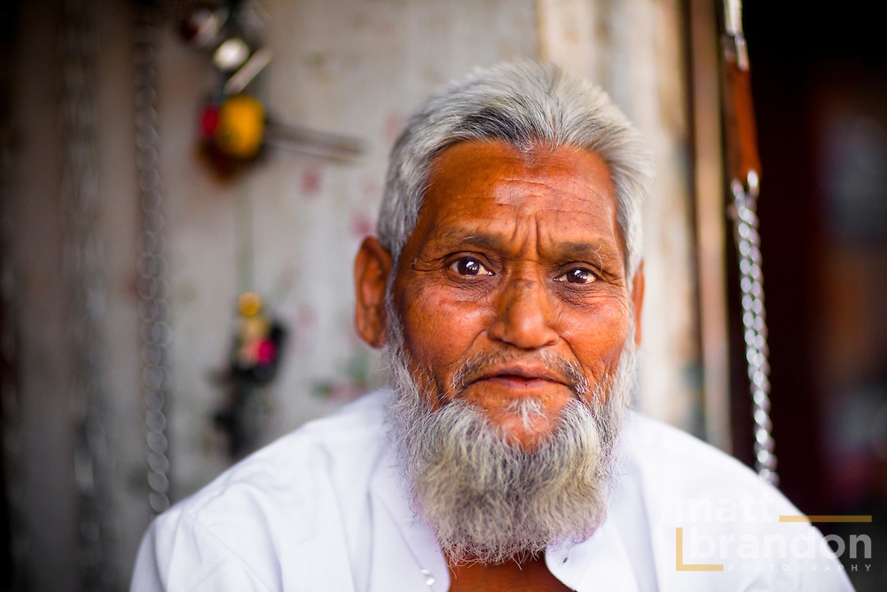 One of the many faces of old Delhi, India.