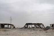 Iraq, Kurdistan: Destruction in the mainly inhabited by Yazidis people town of Sinjar. <br /> For more than one year between 2014 and 2015 Sinjar has been under ISIS control. When in November 2015 Peshmerga forces and Yazidi militias backed by US airstrikes entered the town and fully regained full control from IS, found the city heavily destroyed. Alessio Romenzi