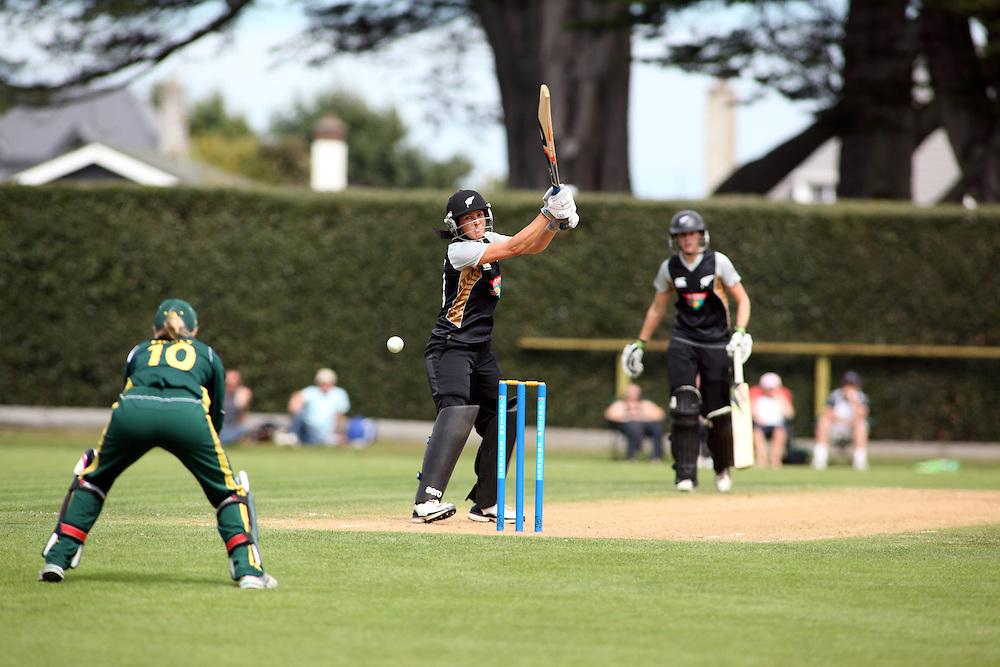 New Zealand versus Australia twenty20 cricket international at Queens Park, Invercargill, NEW ZEALAND. Won by New Zealand.