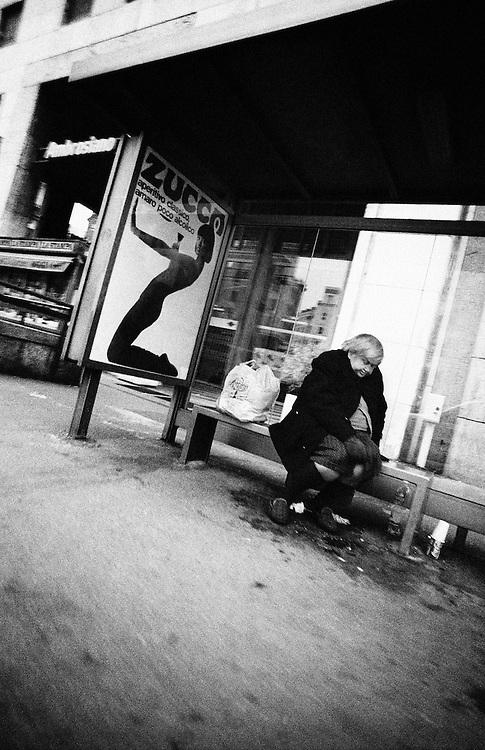 Homeless, Europe, Italy,Lombardy,Milano