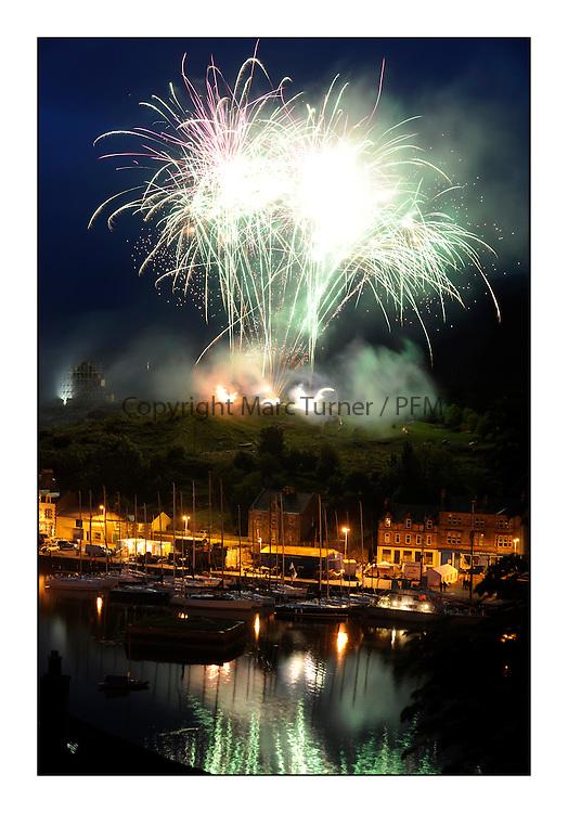 Brewin Dolphin Scottish Series 2010, Tarbert Loch Fyne - Yachting..Tarbert Harbour Social, Fireworks......