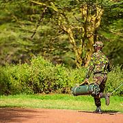 LEWA CONSERVANCY ANTI-POACHING UNIT - KENYA
