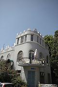 Eclectic style building in Bialik street Tel Aviv Israel
