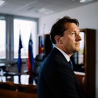 Gregor Virant, Interior minister of Slovenia.