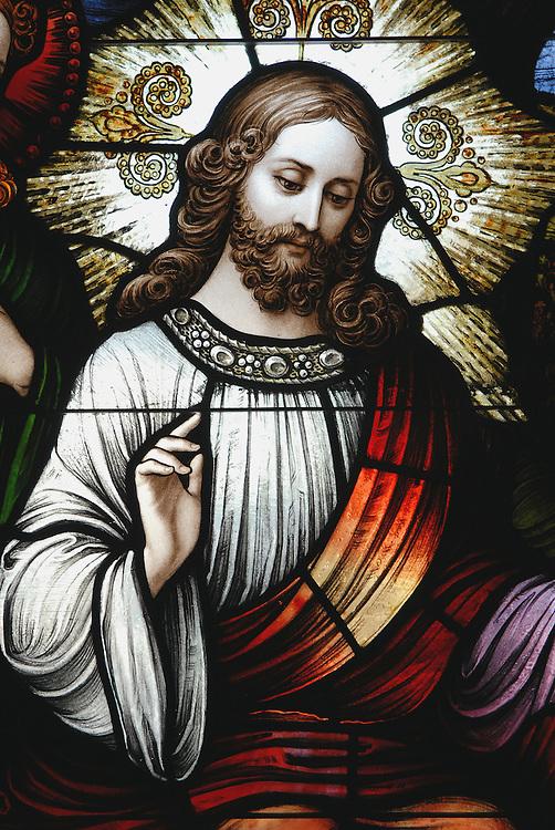 Stainedglass Jesus Jpg Inspired Images