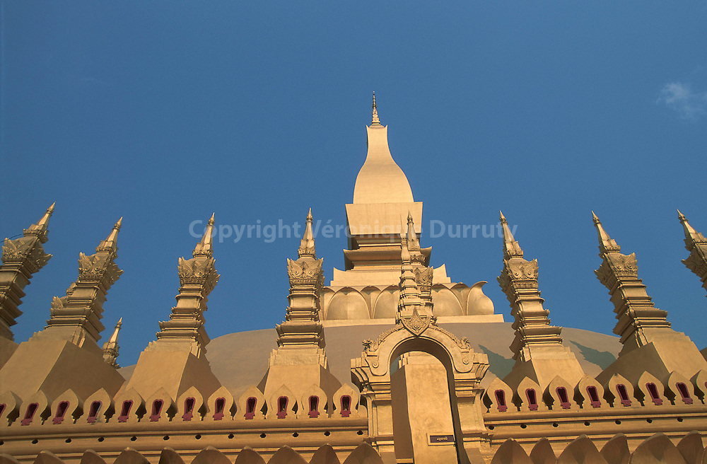 TEMPLE VAT THAT LUANG, VIENTIANE, LAOS