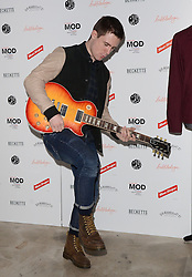 Danny Boy Hatchard attends March of the Mods launch party to celebratethe launch of  Richard Weight's new Green Label Collection and book at Gibson Lounge, Eastcastle Street, London, W1 on Wednesday 11 February 2015