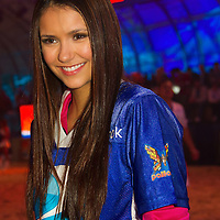 Entertainment - Nina Dobrev Directv Celebrity Beach Bowl - Indianapolis