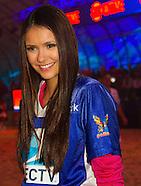 Entertainment - Nina Dobrev Directv Celebrity Beach Bowl - Indianapolis