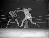 Boxing in Ireland in the 1950s.