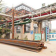 old factory in Bejijng, China. Now in 798 Art Zone.