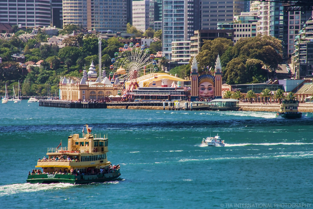 Sydney Ferries @ Luna Park