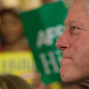 April 22, 2008  Senator Hillary Clinton's election night party at the Park Hyatt in Philadelphia, PA.
