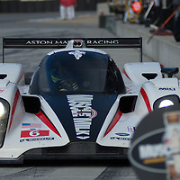 #6 Muscle Milk Aston Martin Racing AMR/Lola Coupe B08 62: Lucas Luhr, Klaus Graf