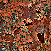 Iron Rust And Corrosion - Motor Transport Museum - Campo, CA