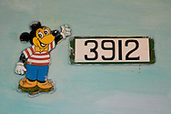 Mickey Mouse in Candelaria, Artemisa, Cuba.