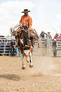 Ingomar Ranch Rodeo, Bronc Riding, Ingomar, Montana