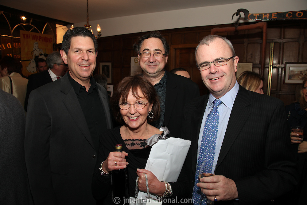 Audrey Hoare, Jon Webster, Paul Burger and Richard Griffiths