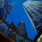 CHINA (Hong Kong). 2009.  Skyscrapers in Central, Hong Kong.