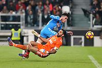 can - 29.10.2016 - Torino - Serie A 2016/17 - 11a giornata  -  Juventus-Napoli  nella  foto: Jose Maria Callejon e Buffon