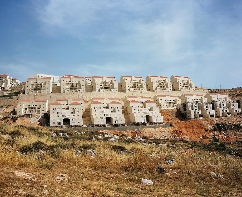 Colonie juive Beitar Illit à la croissance exponentielle.