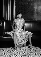 Nia Long as Billy Holiday in the Lenox Lounge, Harlem, NY as part of cover story for New York Moves Magazine