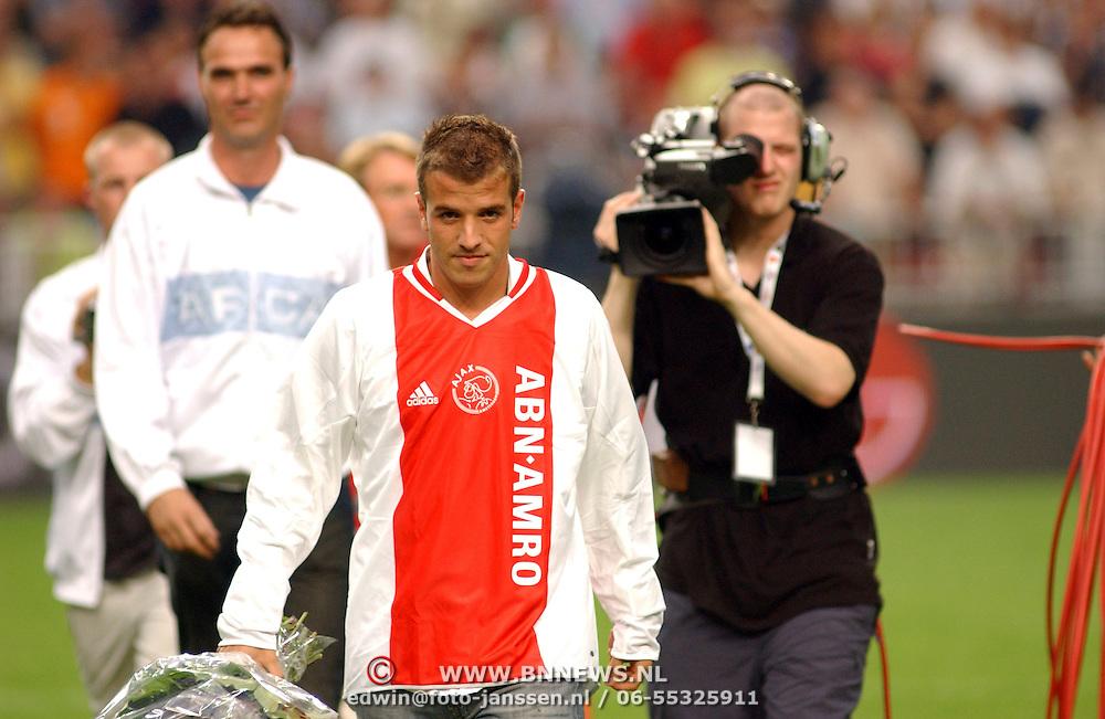 NLD/Amsterdam/20050729 - LG Amsterdam Tournament 2005, afscheid Rafael van der Vaart Ajax