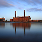 Lots Road Power Station in Chelsea, London - just before redevelopment of the site begins