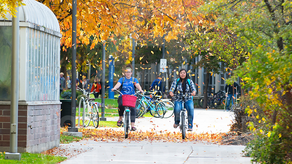 Fall Campus Scenes, Carrie Quinney photo