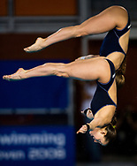 29th LEN European Swimming Championships<br /> Eindhoven, Netherlands<br /> March, 13-24 2008<br /> DIVING - WOMEN 10m SYNCHRO FINAL