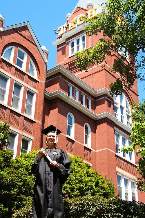 Ariel Thompson Senior Photos<br /> Georgia Tech '12