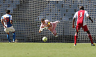 CAPE TOWN, South Africa - Saturday 26 January 2013, Grasshopper Club Zurich goalkeeper Roman Burki during the soccer/football match Grasshopper Club Zurich (Switzerland) and Ajax Cape Town at the Cape Town stadium..Photo by Roger Sedres/ImageSA