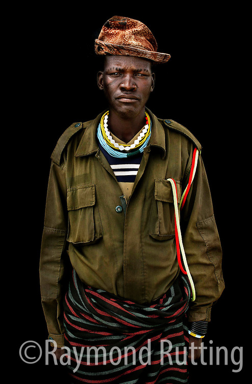 Uganda - Project Eyes on Africa - Portrets of refugee's in three African Country's. Karamojong tribe. photo raymond rutting