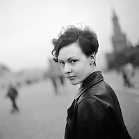 Olya on Red Square (1996)