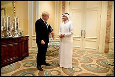 APR 20 2013 Boris opens the Institute for Infrastructure Studies in Doha