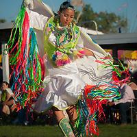 Dance competition,Crow Fair, Montana, USA
