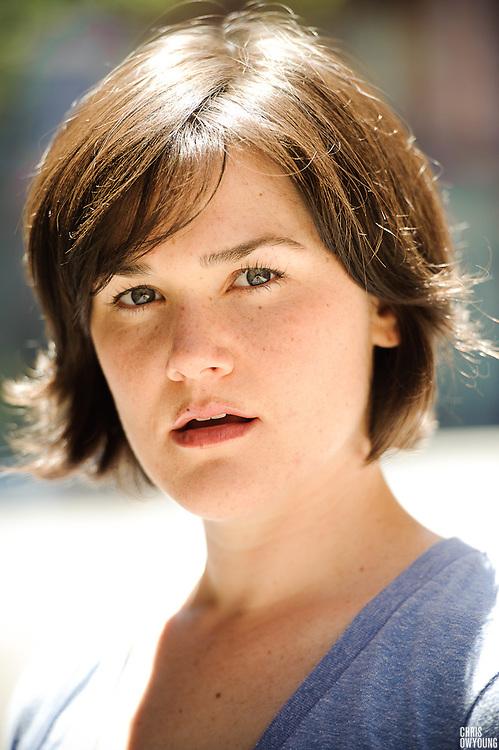 Molly Coogan headshots, May 30, 2010.