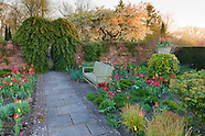 April at Wollerton Old Hall Garden