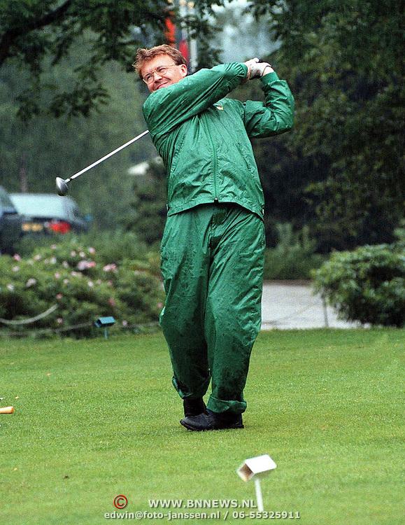 Verjaardag Pr.Bernhard, prins Friso golfend